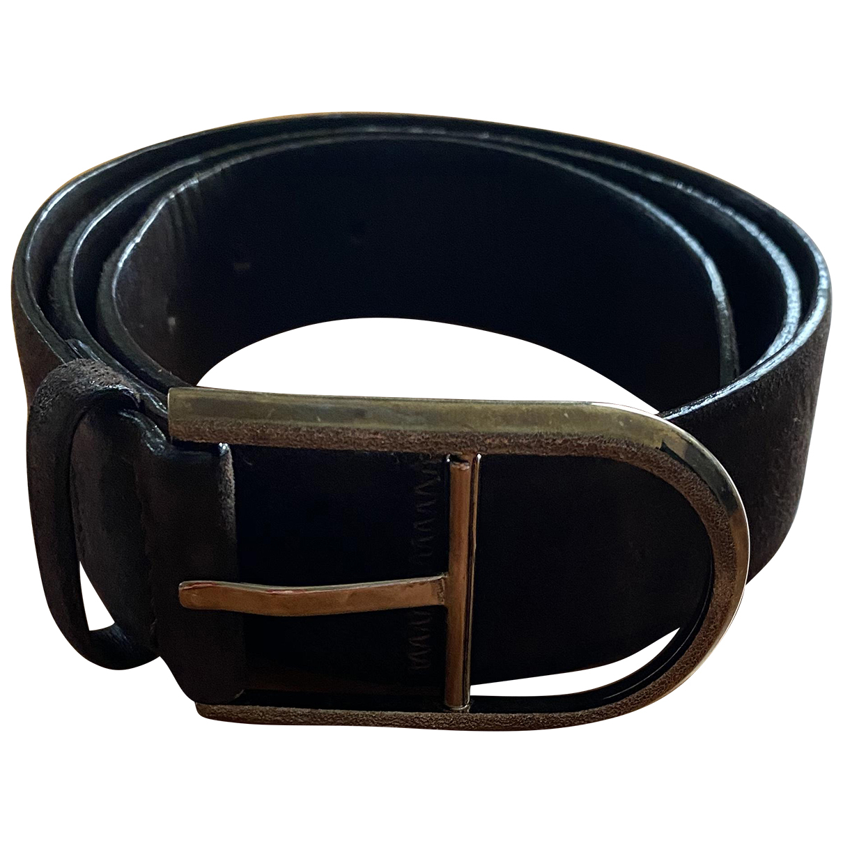 Orciani N Brown Leather belt for Women 85 cm