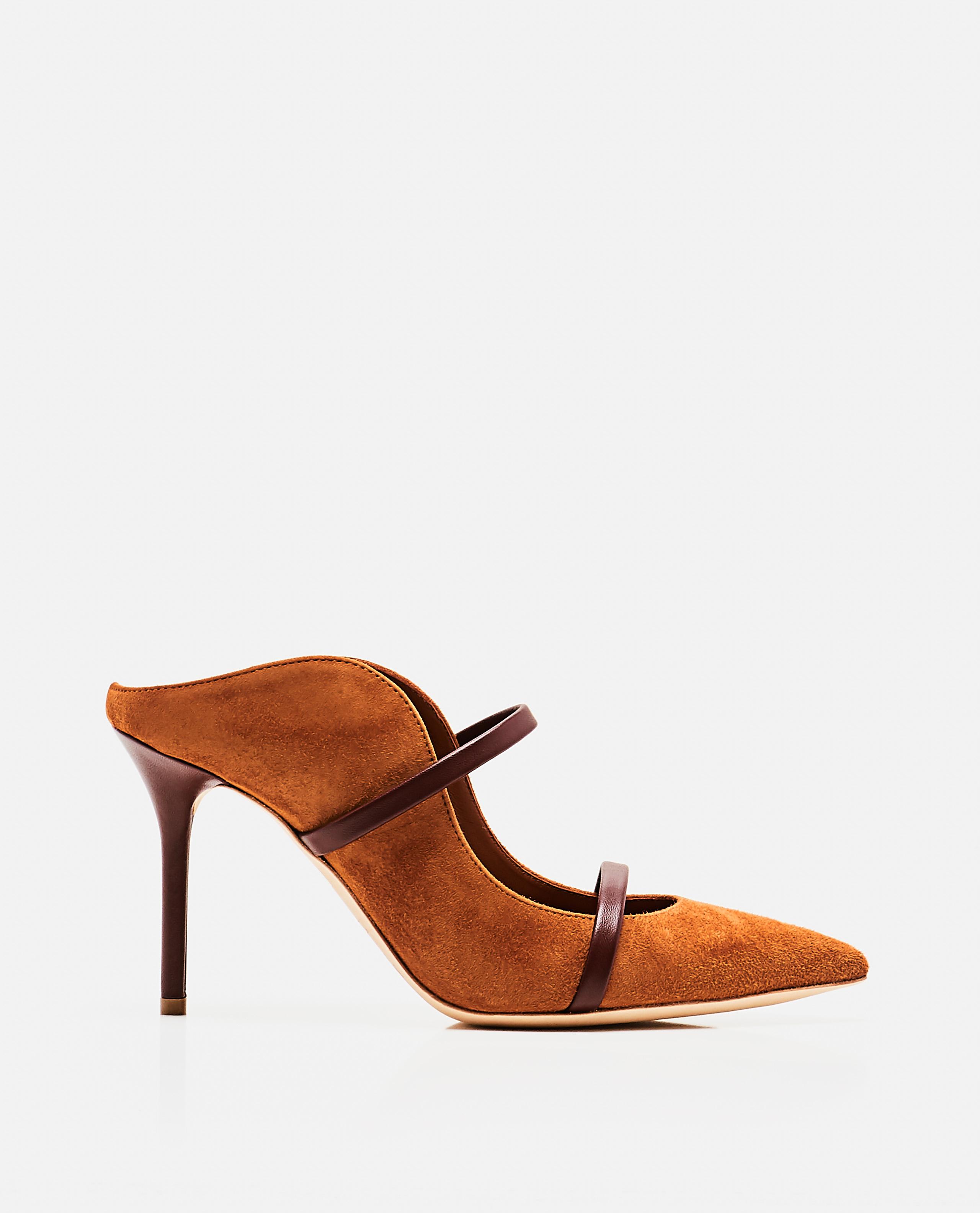Maureen 85 leather mules