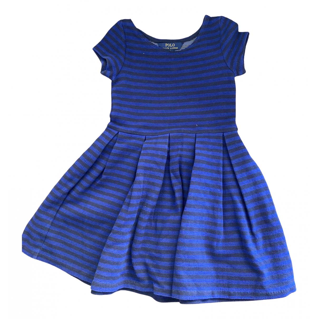 Polo Ralph Lauren \N Kleid in  Bunt Baumwolle - Elasthan