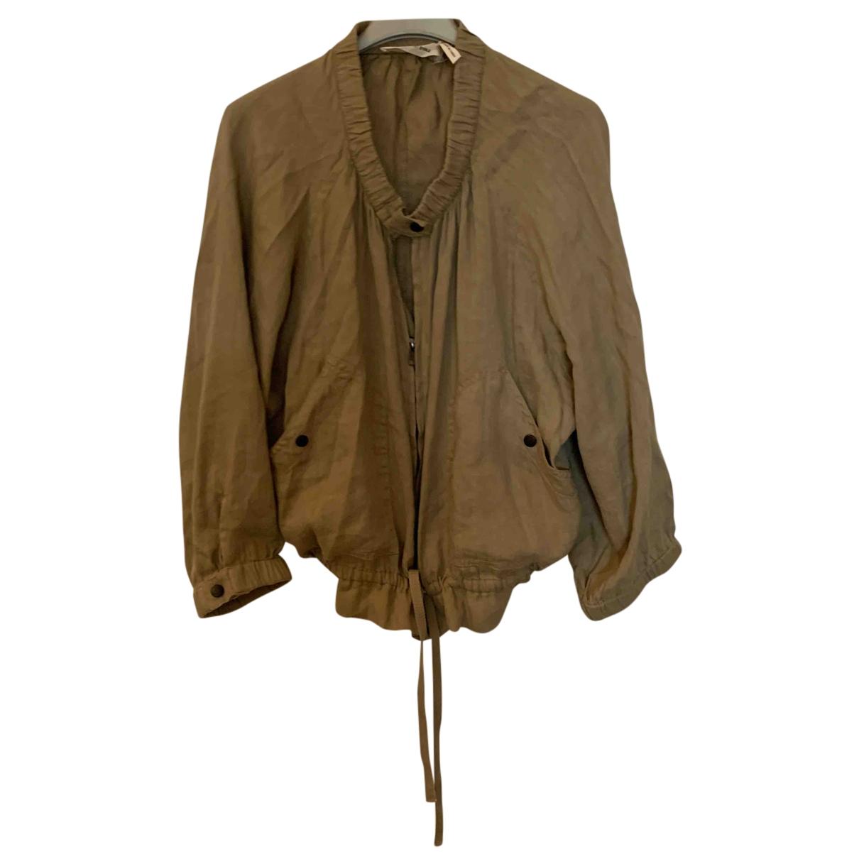 Isabel Marant Etoile \N Beige Linen jacket for Women 40 FR