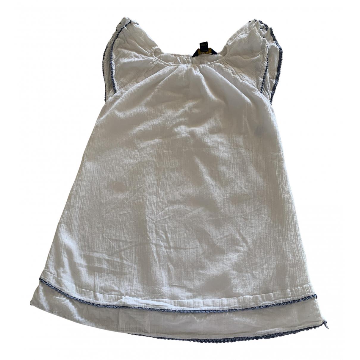 Polo Ralph Lauren \N Kleid in  Weiss Baumwolle