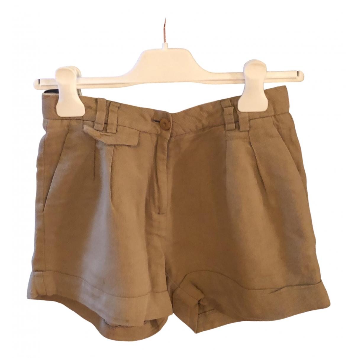 Sessun \N Shorts in  Beige Baumwolle