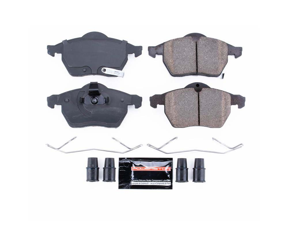 Power Stop Z23-819 Z23 Evolution Sport Brake Pads w/Hardware Front Saab 44077 1999-2003