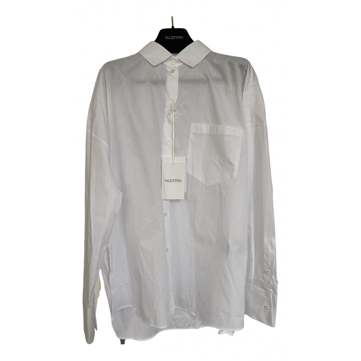 Valentino Garavani \N White Cotton  top for Women 42 IT