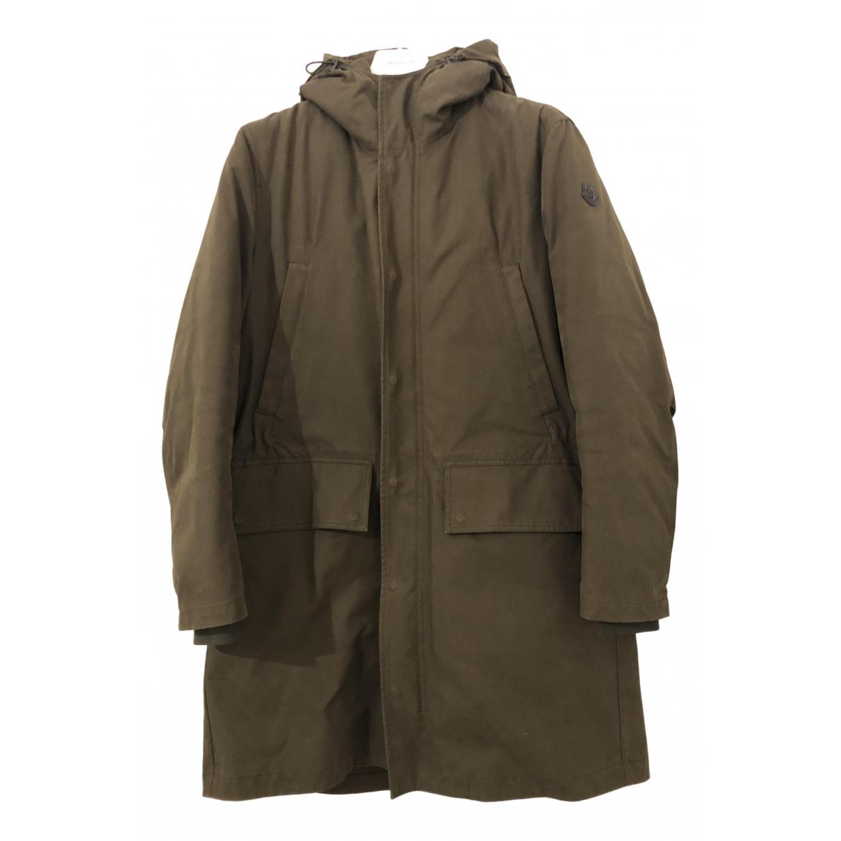 Moncler - Manteau Long pour homme - vert