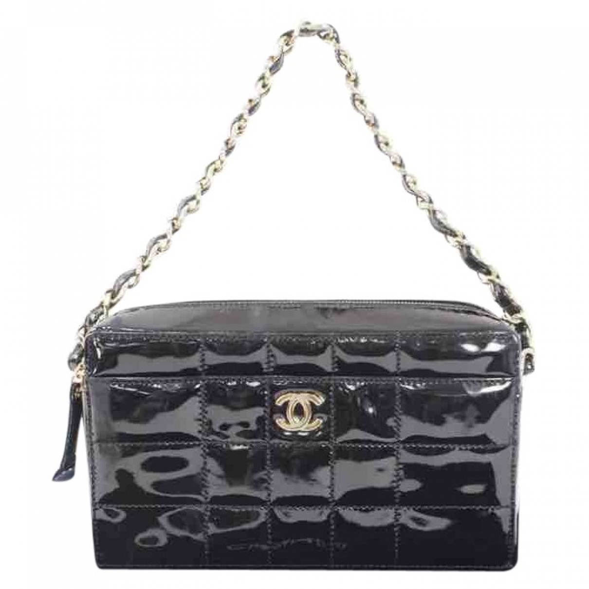 Chanel \N Black Patent leather handbag for Women \N