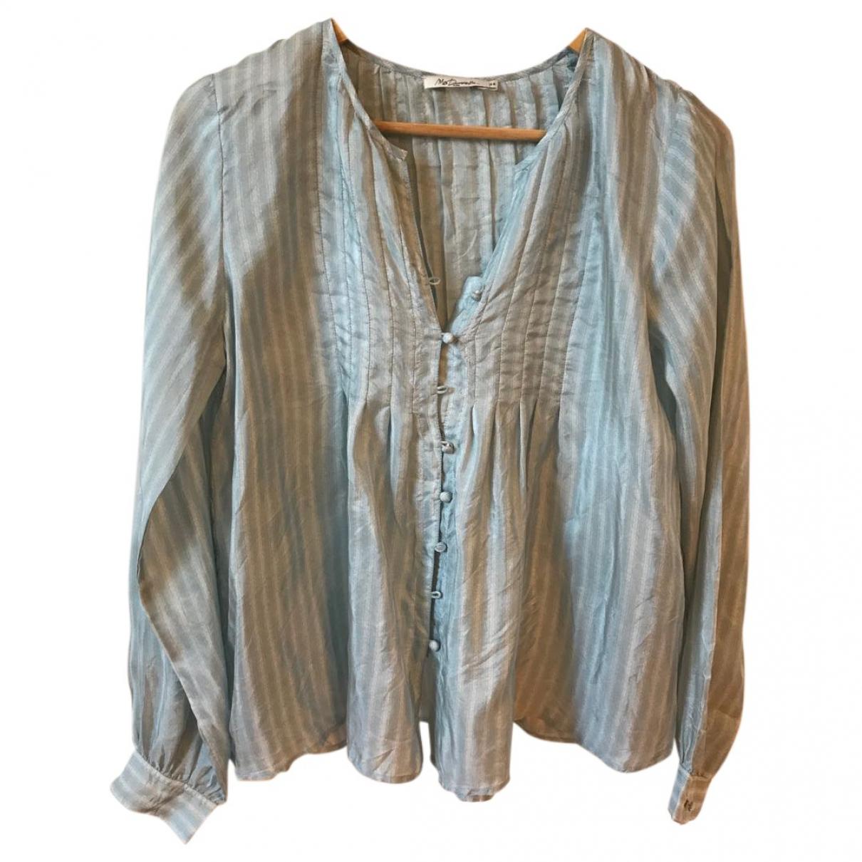 Mes Demoiselles ... \N Blue Silk  top for Women 36 FR