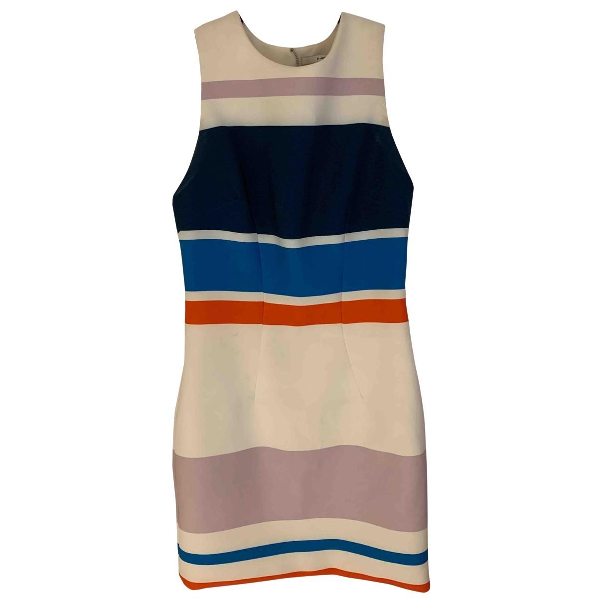 Non Signé / Unsigned \N Ecru Cotton - elasthane dress for Women 00 0-5
