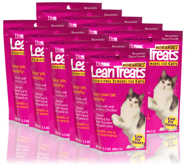 Lean Treats - Nutritional Rewards for CATS 10-Pack (2.1 lbs)