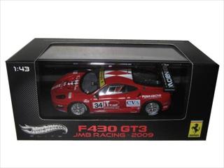 Ferrari F430 GT3 34 JMB Racing  Italian GT3 2009 Elite Edition 1/43 Diecast Model Car by Hotwheels