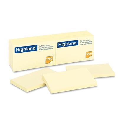 3M Highland Self-Sticking Note, 3