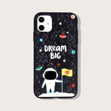 iPhone Schutzhuelle mit Astronaut Muster