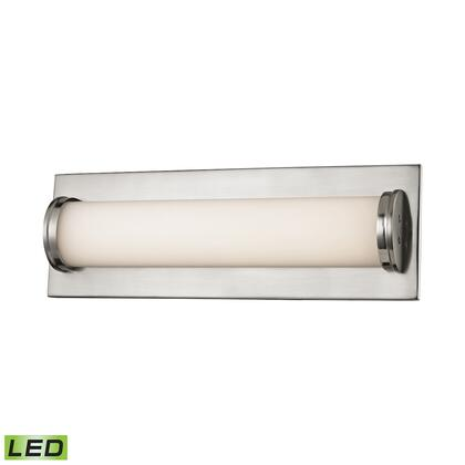 BVL372-10-16M Barrie Bath Vanity - 1 Light LED Matte Satin Nickel