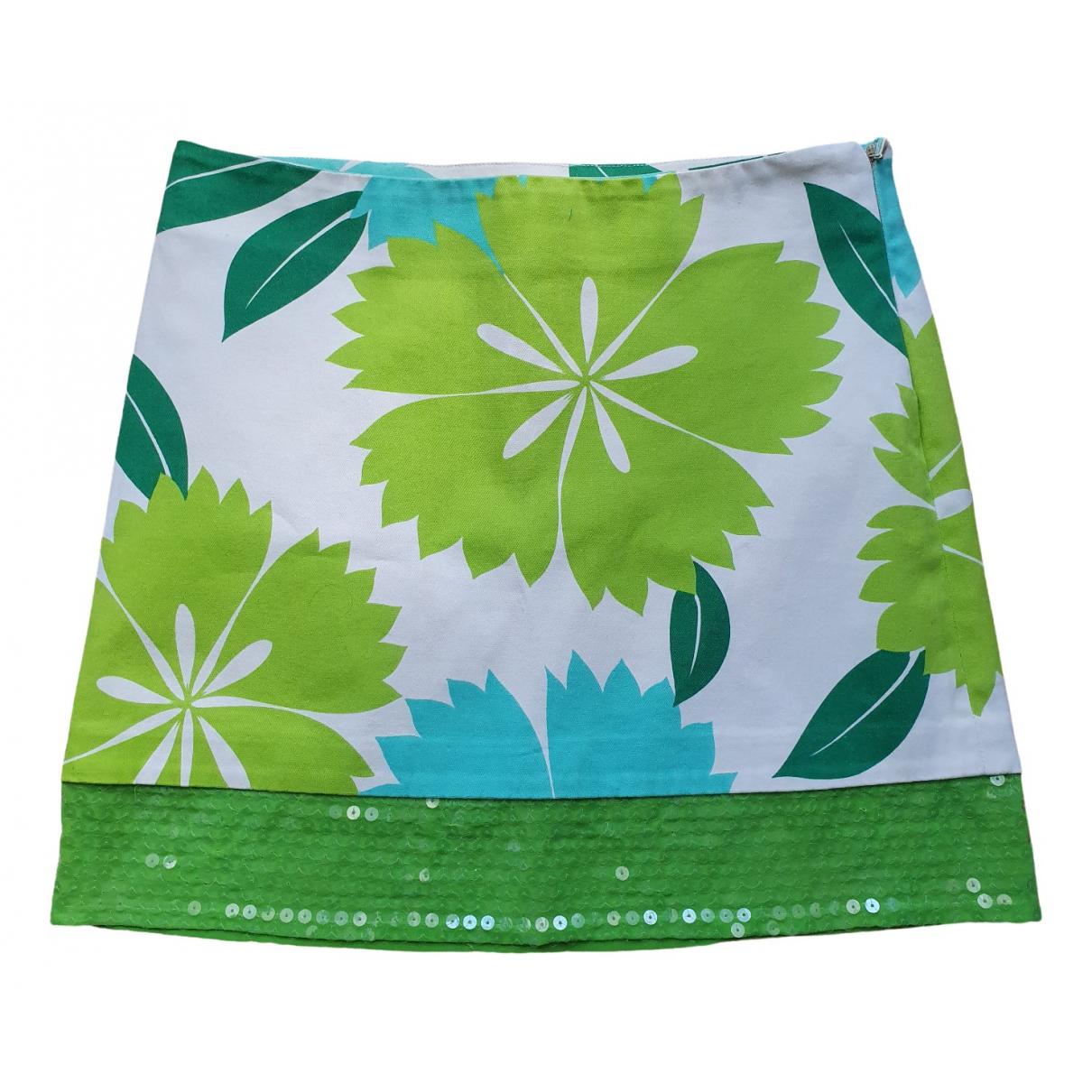 Parosh - Jupe   pour femme en coton - multicolore