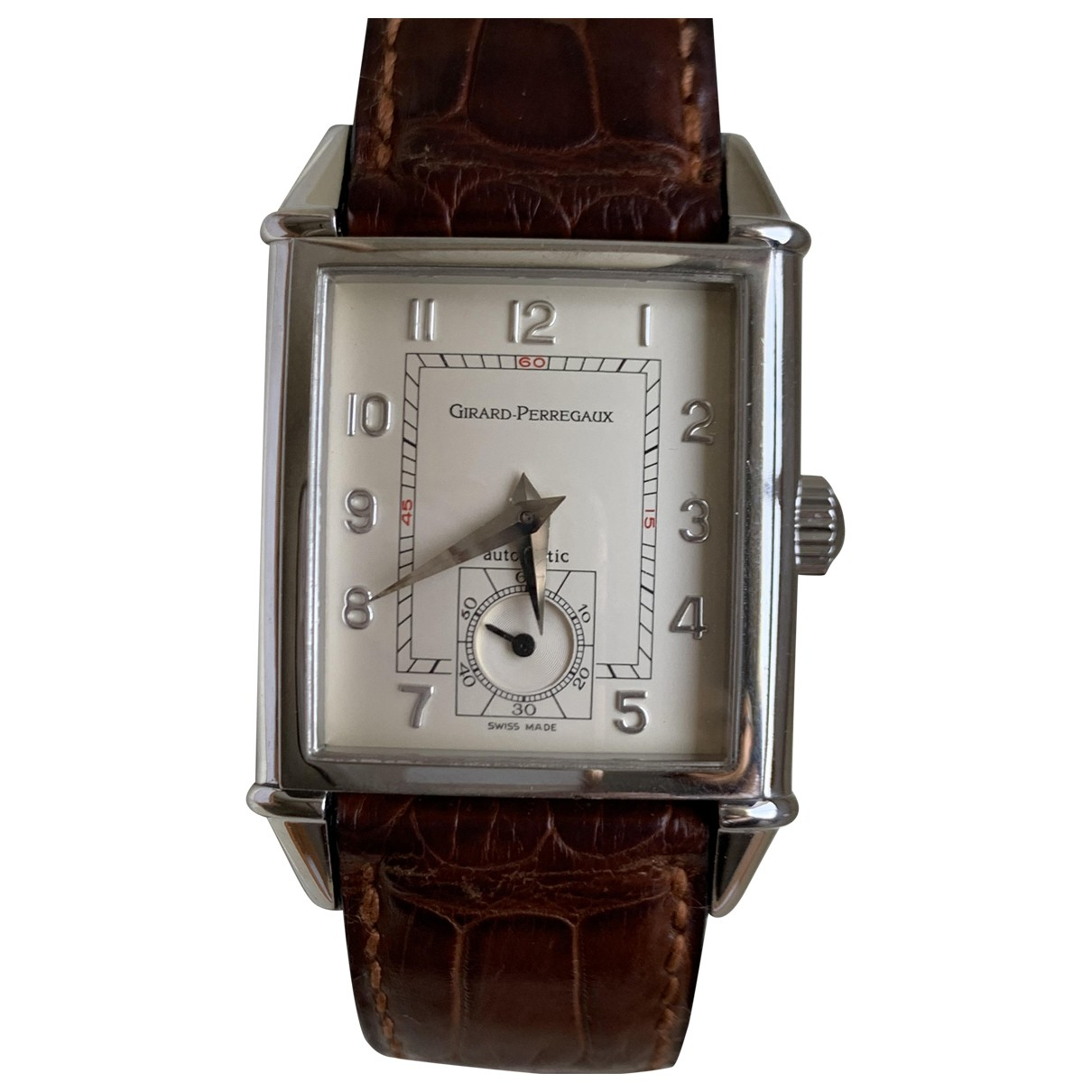 Girard Perregaux 1945 Ecru Steel watch for Women \N