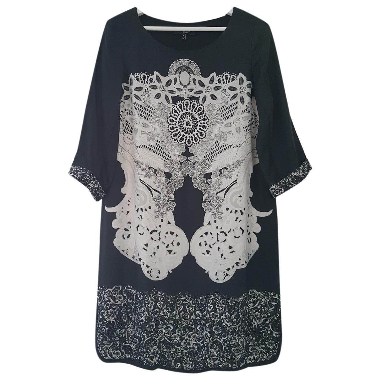 Mariella Rosati \N Kleid in  Schwarz Polyester