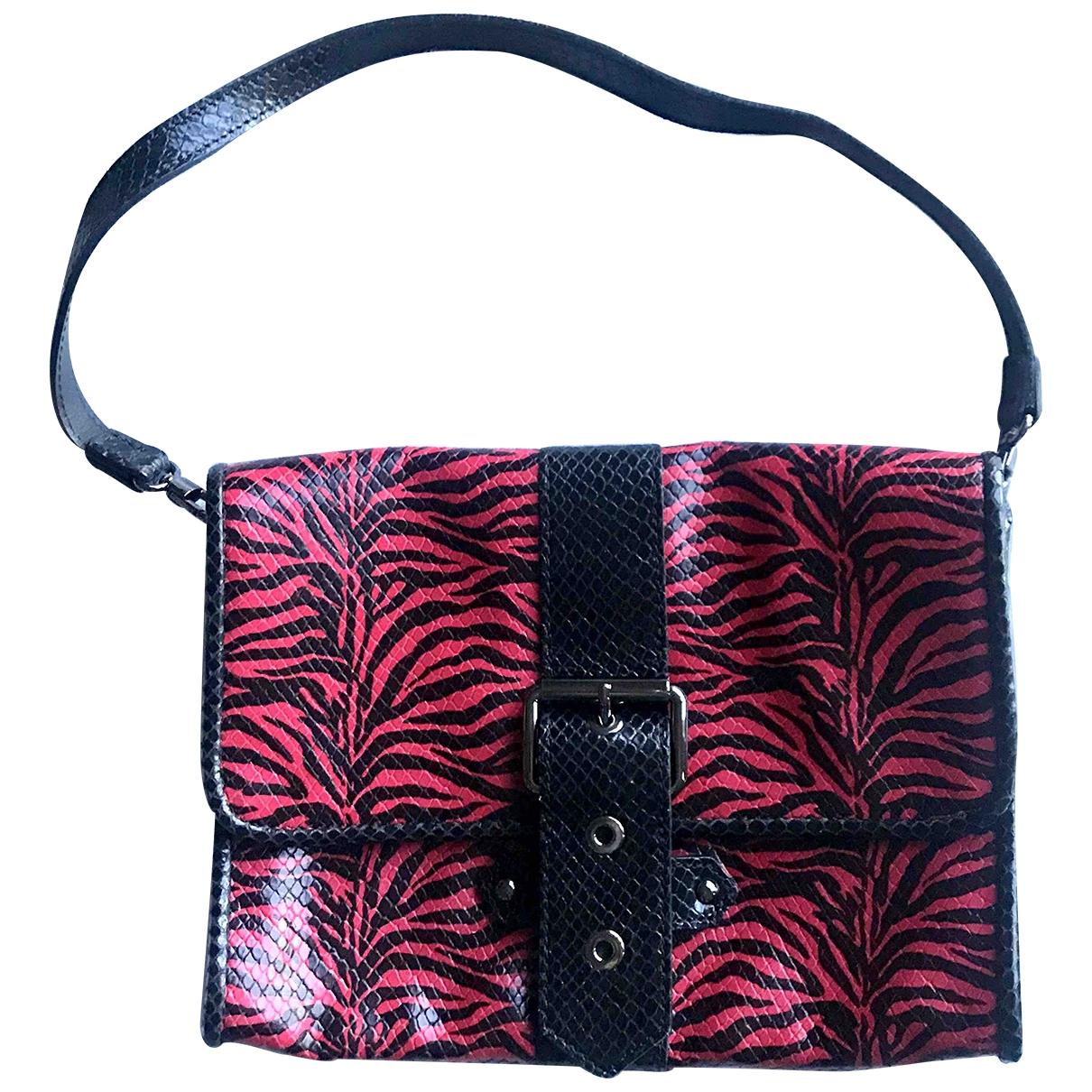 Longchamp \N Red Leather handbag for Women \N