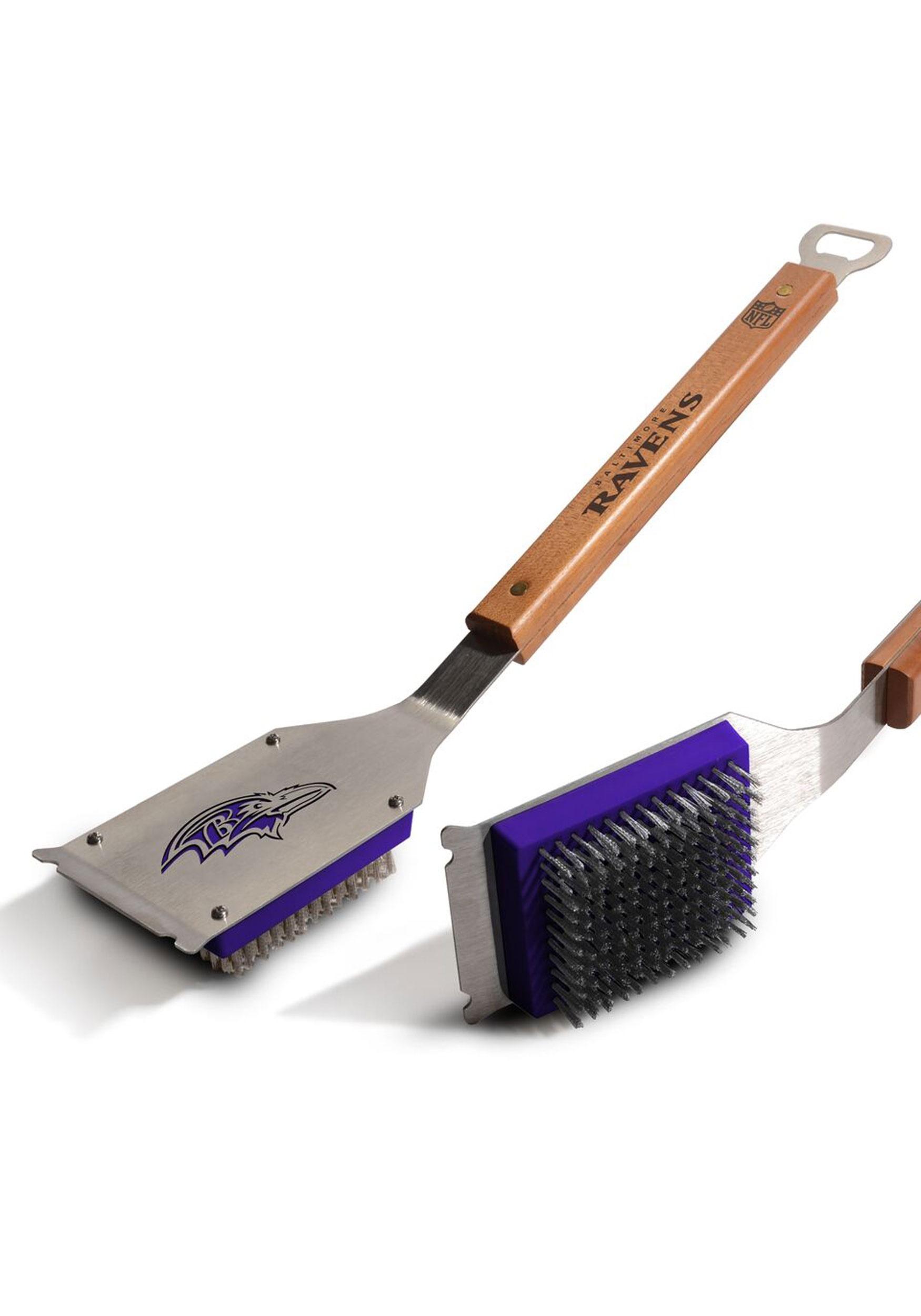 NFL Baltimore Ravens Grill Brush