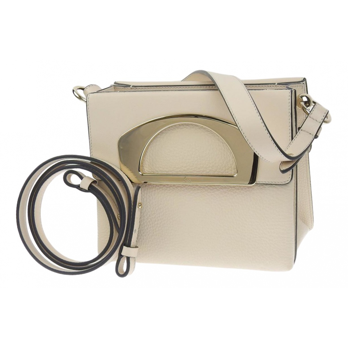 Christian Louboutin Passage Beige Leather handbag for Women \N