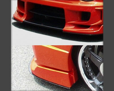 ChargeSpeed CS978UCW Carbon Under Plates for Wide Body Front Bumper Subaru Impreza GD-B 02-05