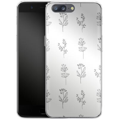 OnePlus 5 Silikon Handyhuelle - Botanic Studies von Lucy Bohr
