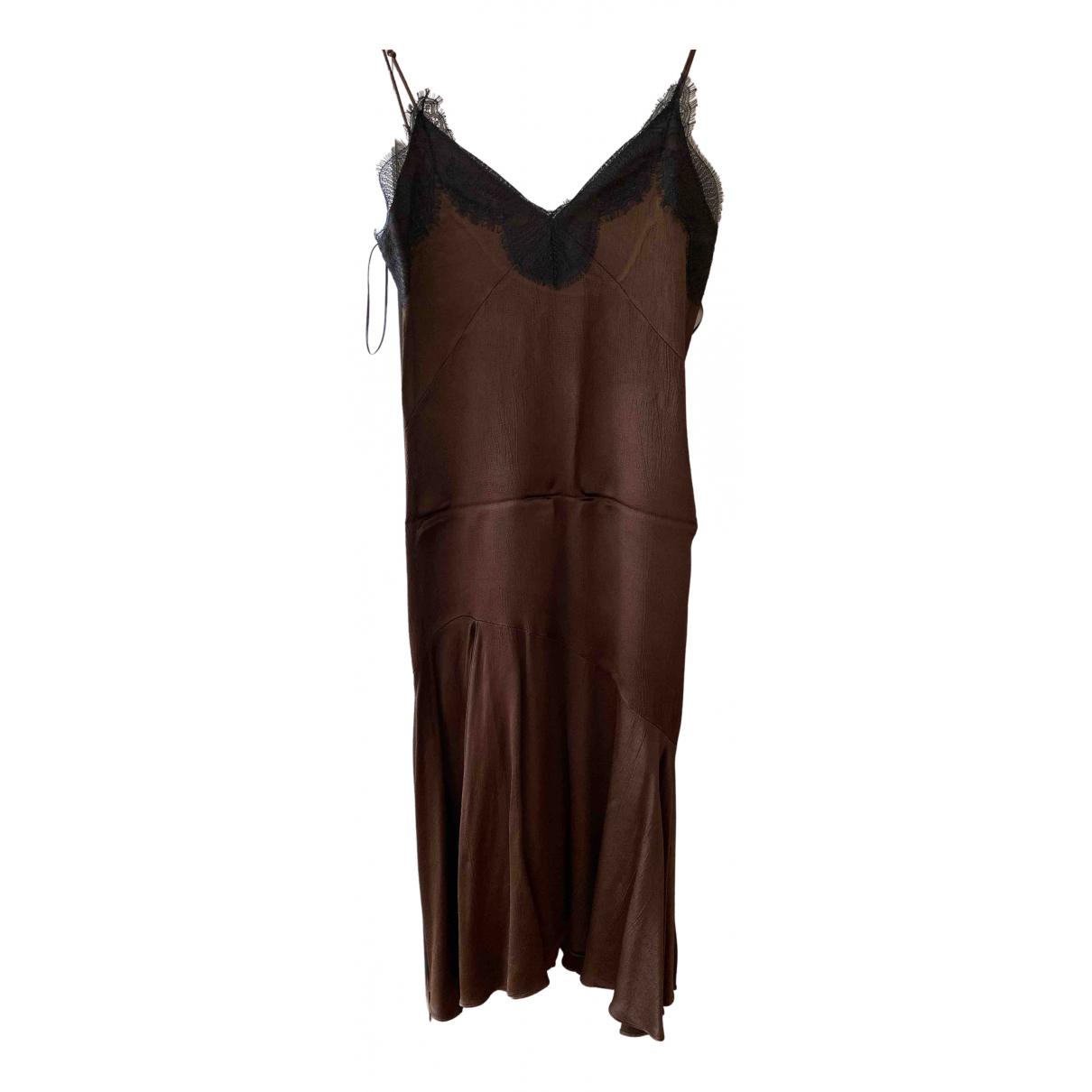Zara \N Brown dress for Women S International