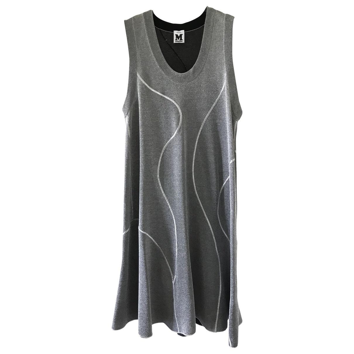 M Missoni \N Silver dress for Women 42 IT