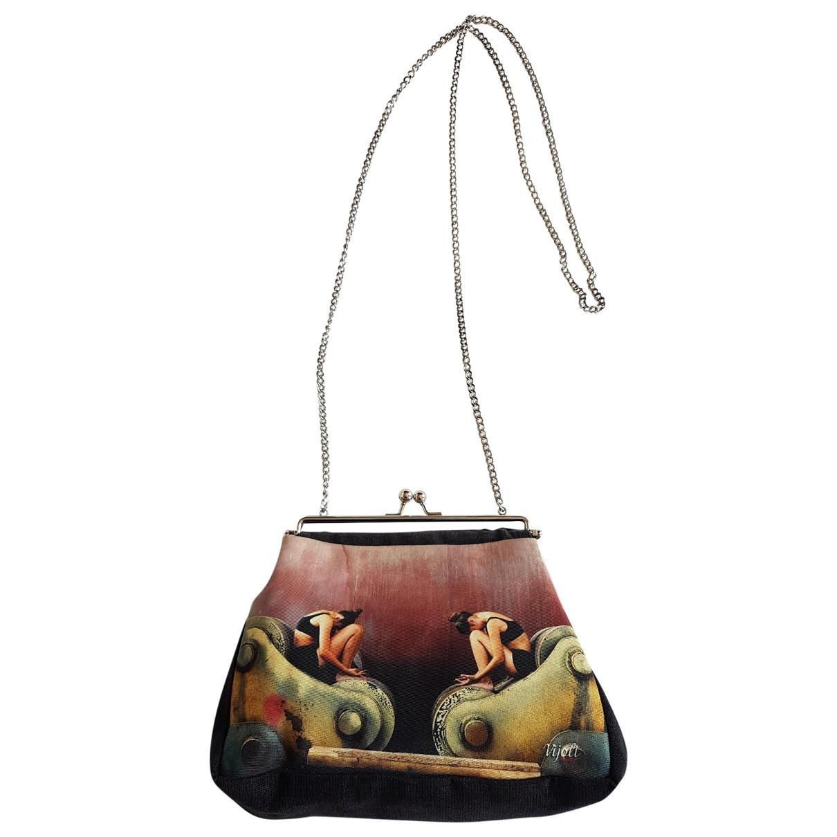 Non Signé / Unsigned \N Multicolour Velvet handbag for Women \N