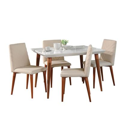 2-107351109251 5-Piece Utopia Dining Room Set with 47