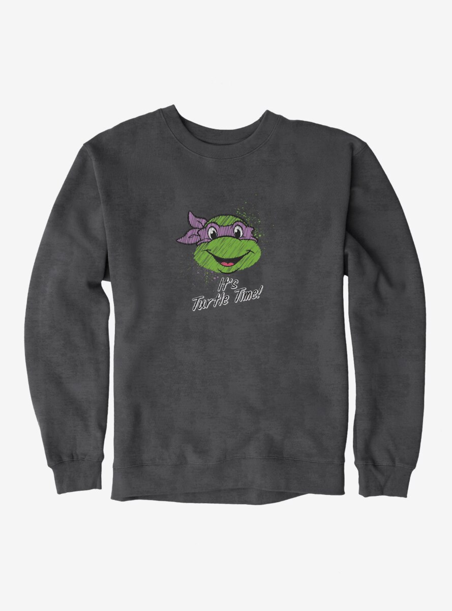Teenage Mutant Ninja Turtles Chalk Lines Donatello Turtle Time Sweatshirt