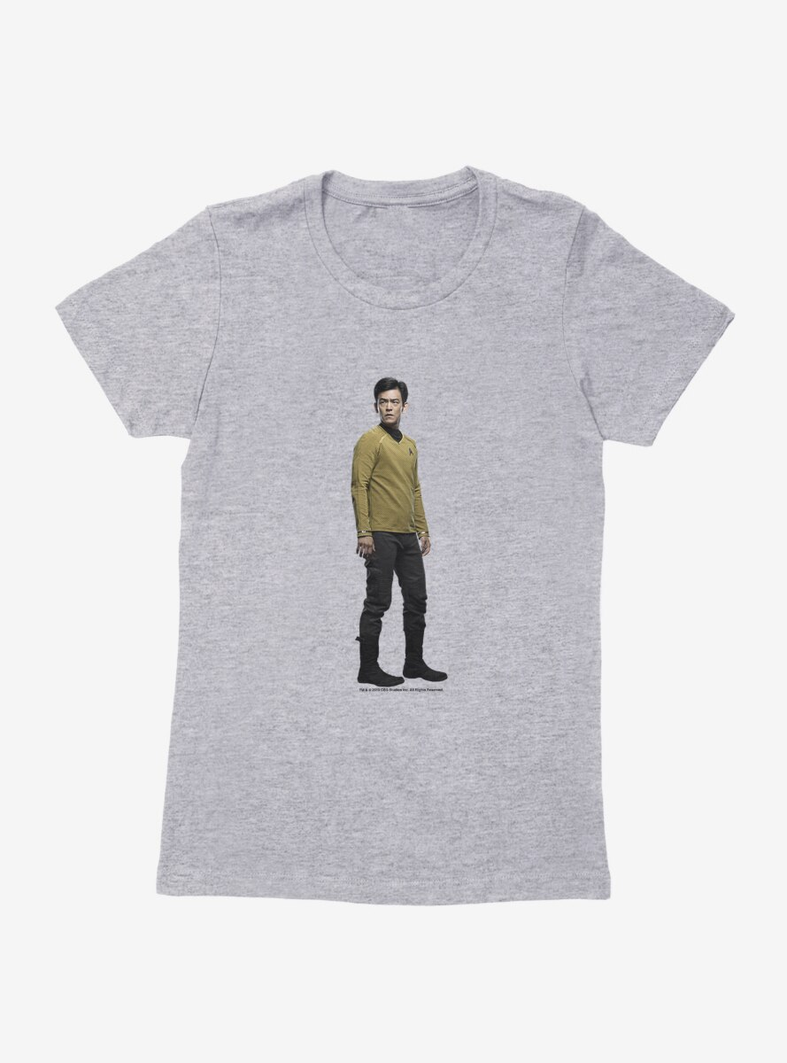 Star Trek Into Darkness Sulu Womens T-Shirt