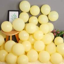 100pcs Solid Color Balloon