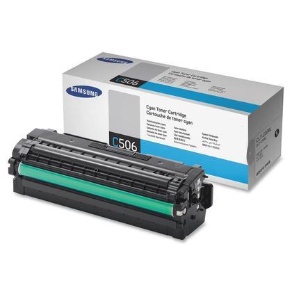 Samsung CLT-C506L cartouche de toner originale cyan haute capacité