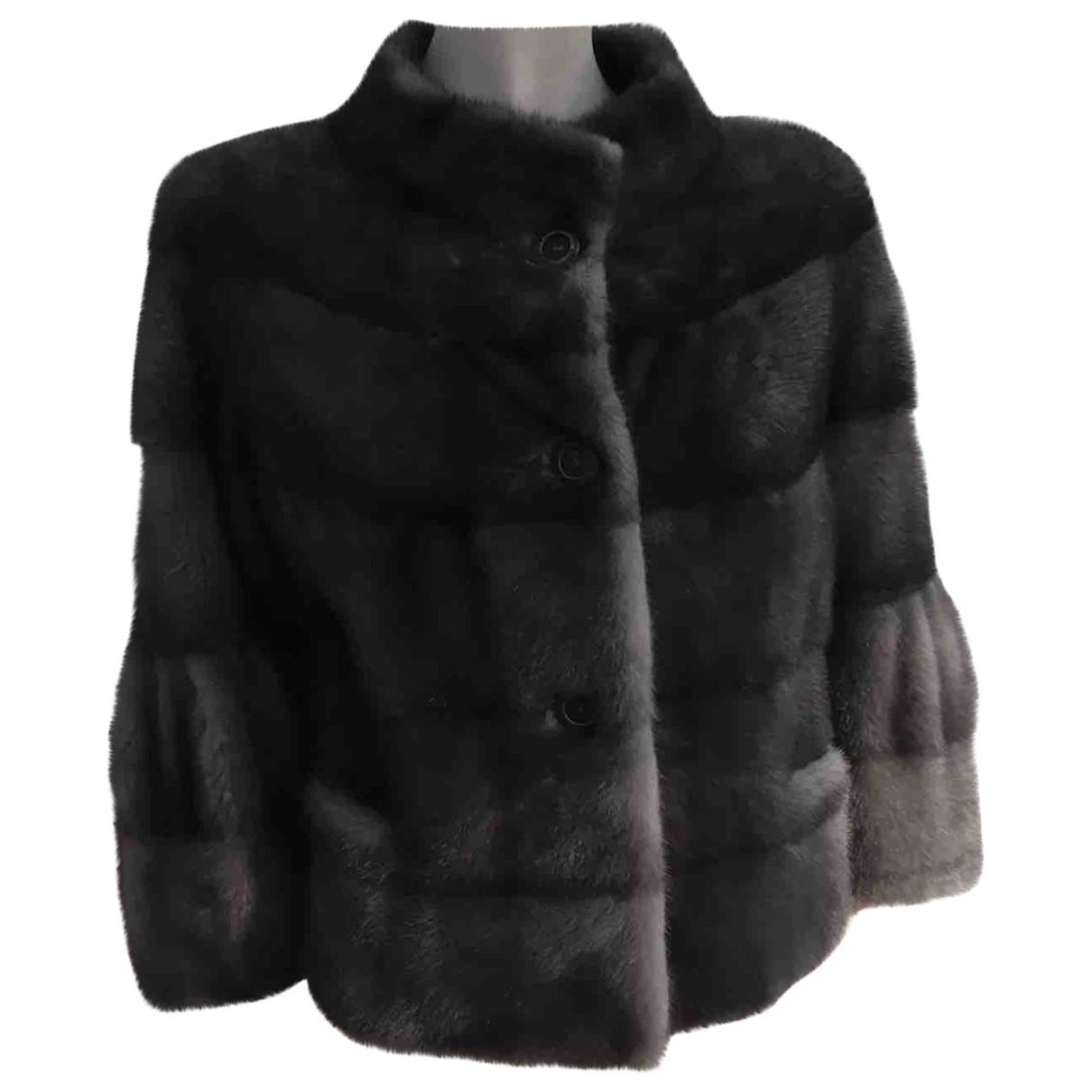 Hockley - Manteau   pour femme en vison - gris