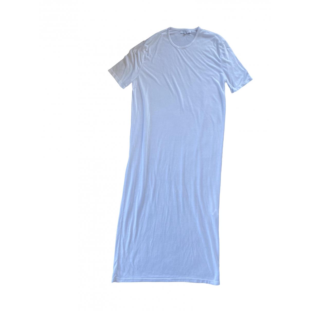 Iro \N Kleid in  Weiss Baumwolle