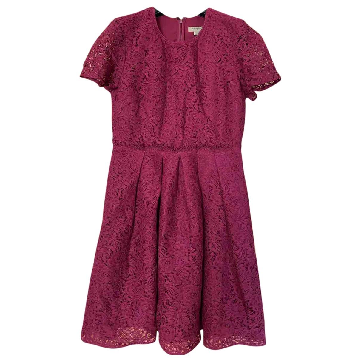 Burberry - Robe   pour femme en dentelle - rose