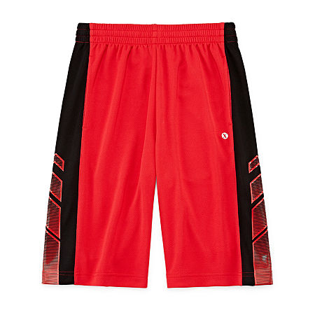 Xersion Little & Big Boys Basketball Short, X-large (18-20) , Red