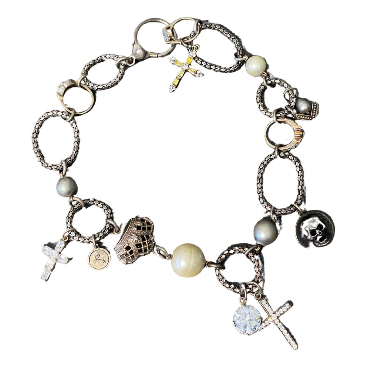 - Collier Motifs Religieux pour femme en metal - argente
