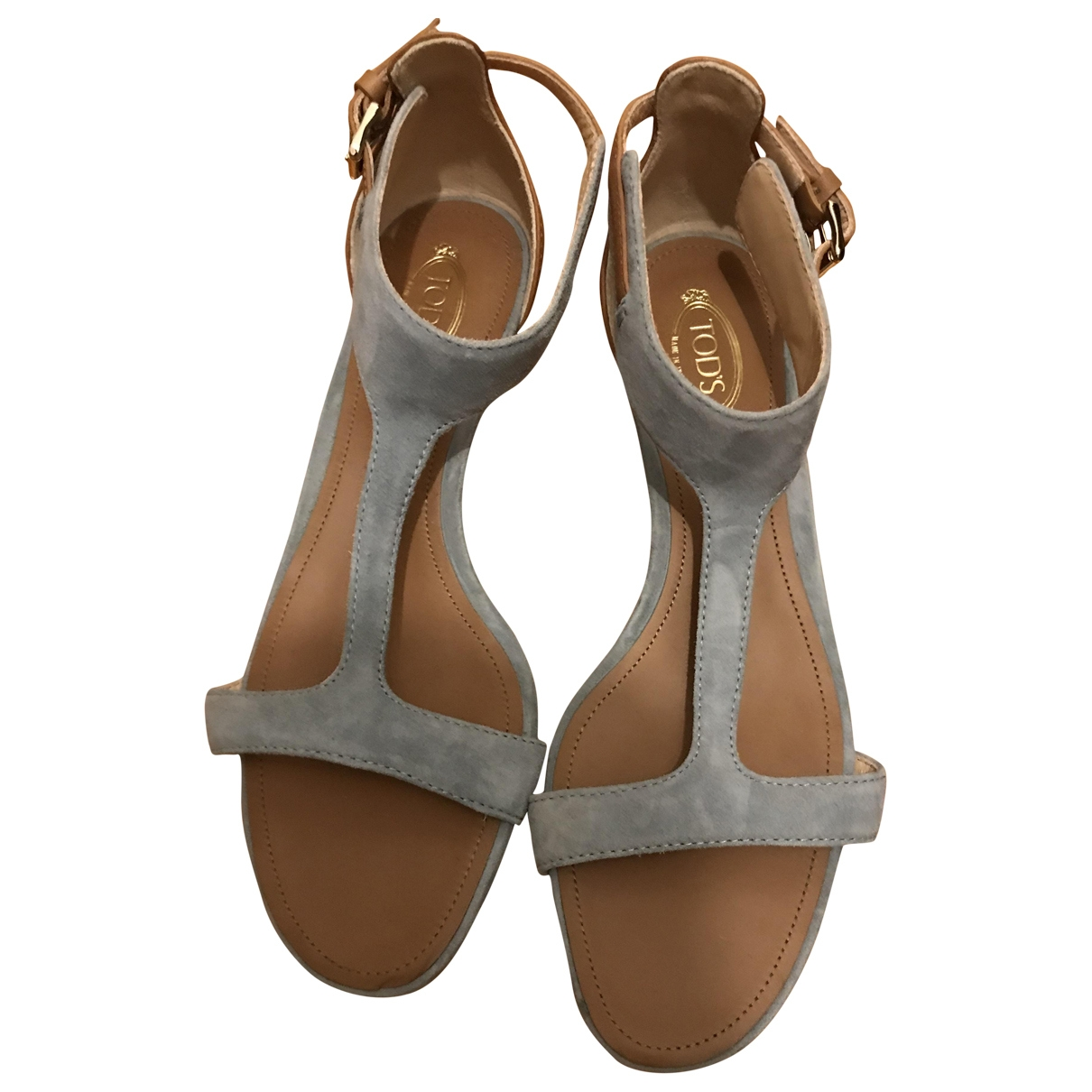 Tod's \N Multicolour Leather Sandals for Women 38 EU
