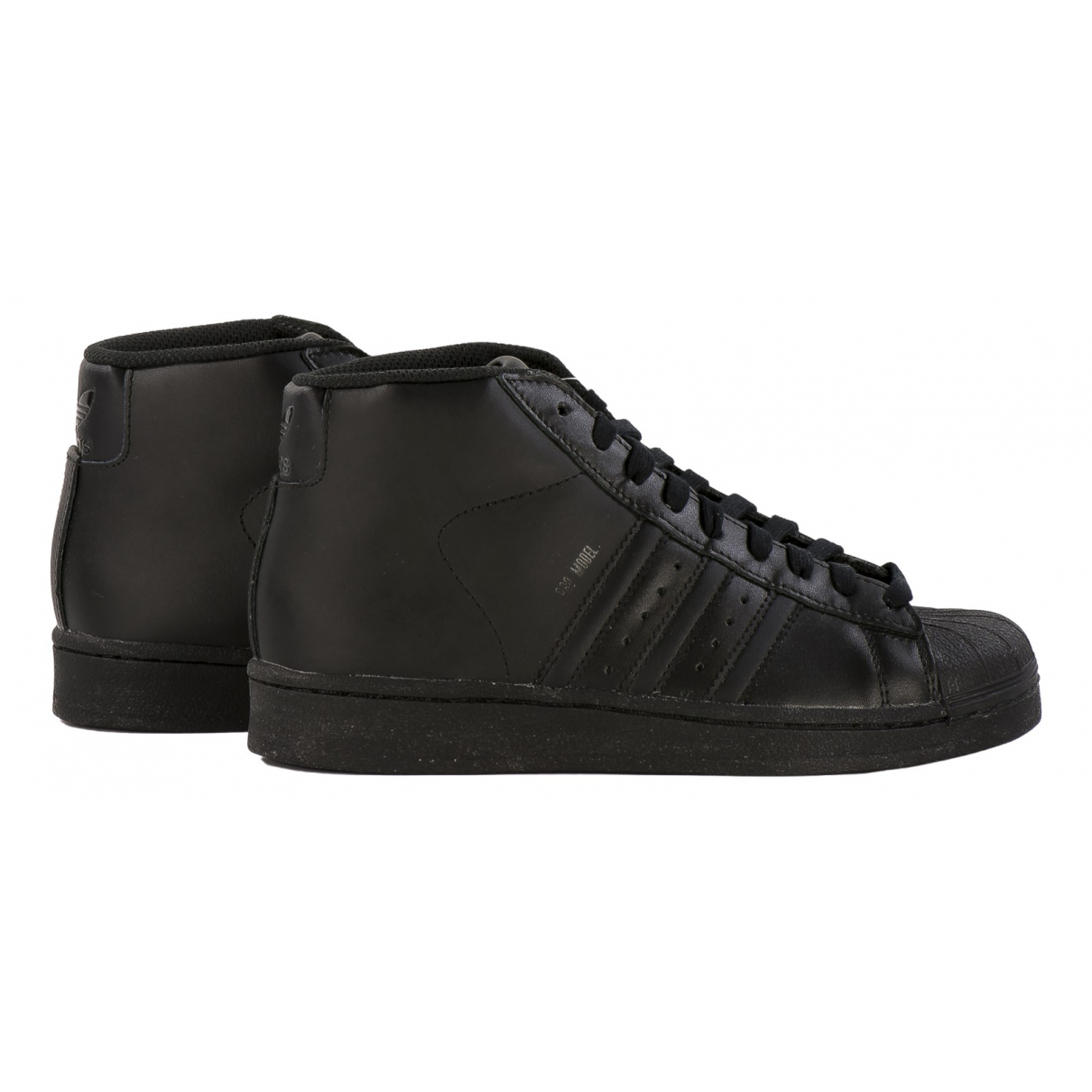 Adidas Superstar Black Leather Trainers for Women 38 EU