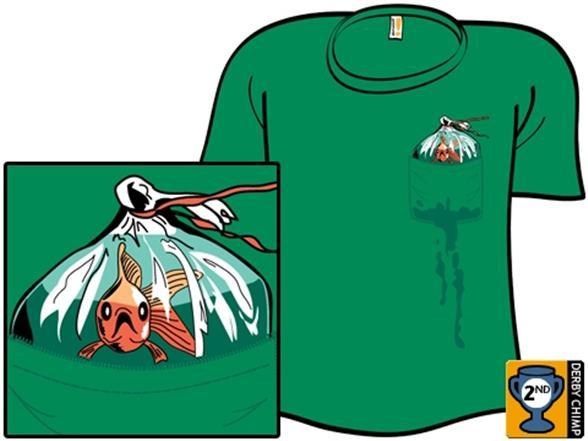 Pocket Fishman T Shirt