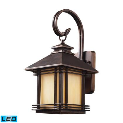 42100/1-LED 1 Light Outdoor Wall Sconce in Hazelnut Bronze -