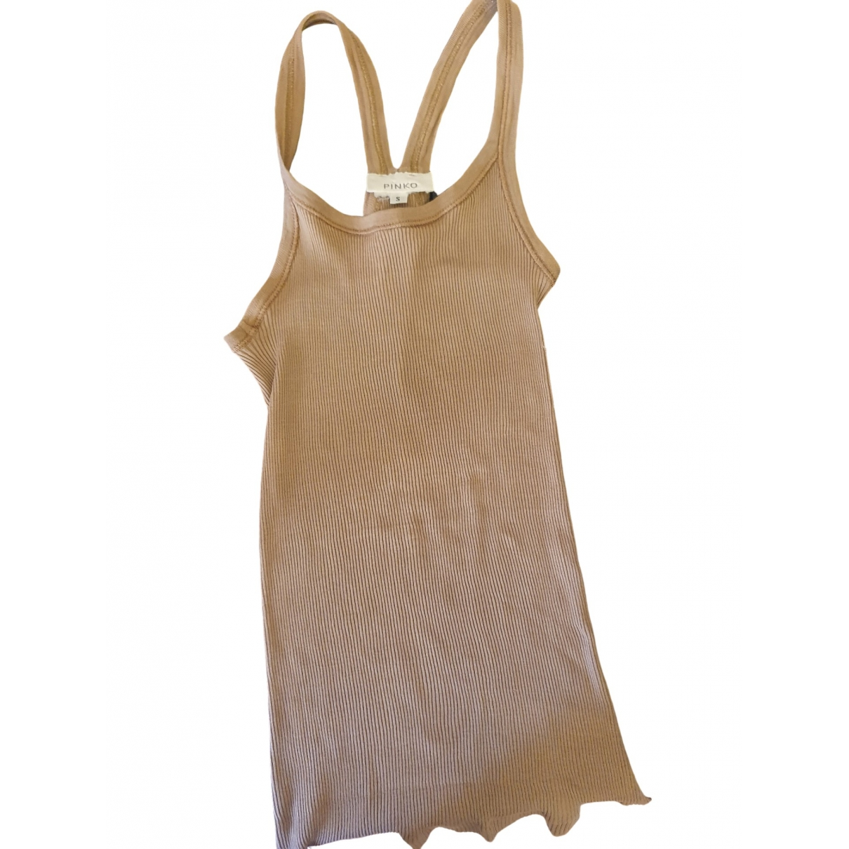 Pinko \N Camel Cotton  top for Women 38 IT