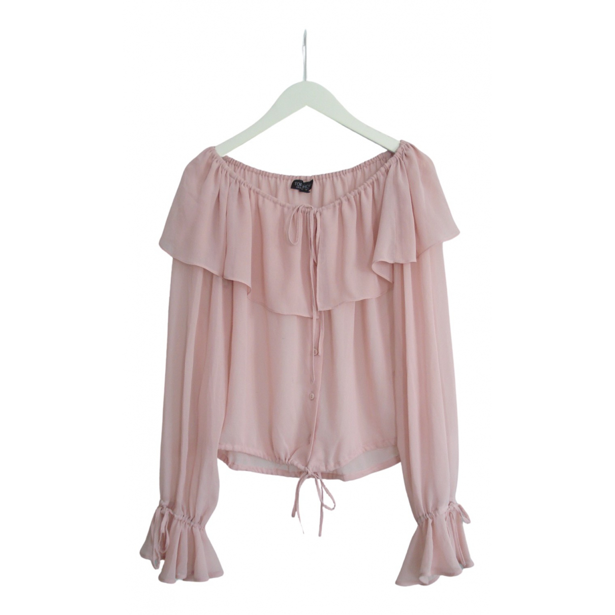 tophop N Pink  top for Women 38 FR