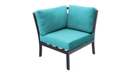 TKC067b-CS-ARUBA Corner Chair - Ash and Aruba