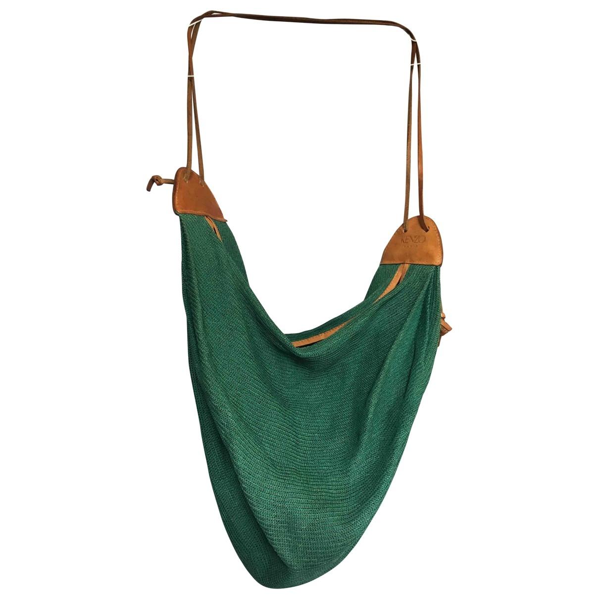 Kenzo \N Green Cloth handbag for Women \N