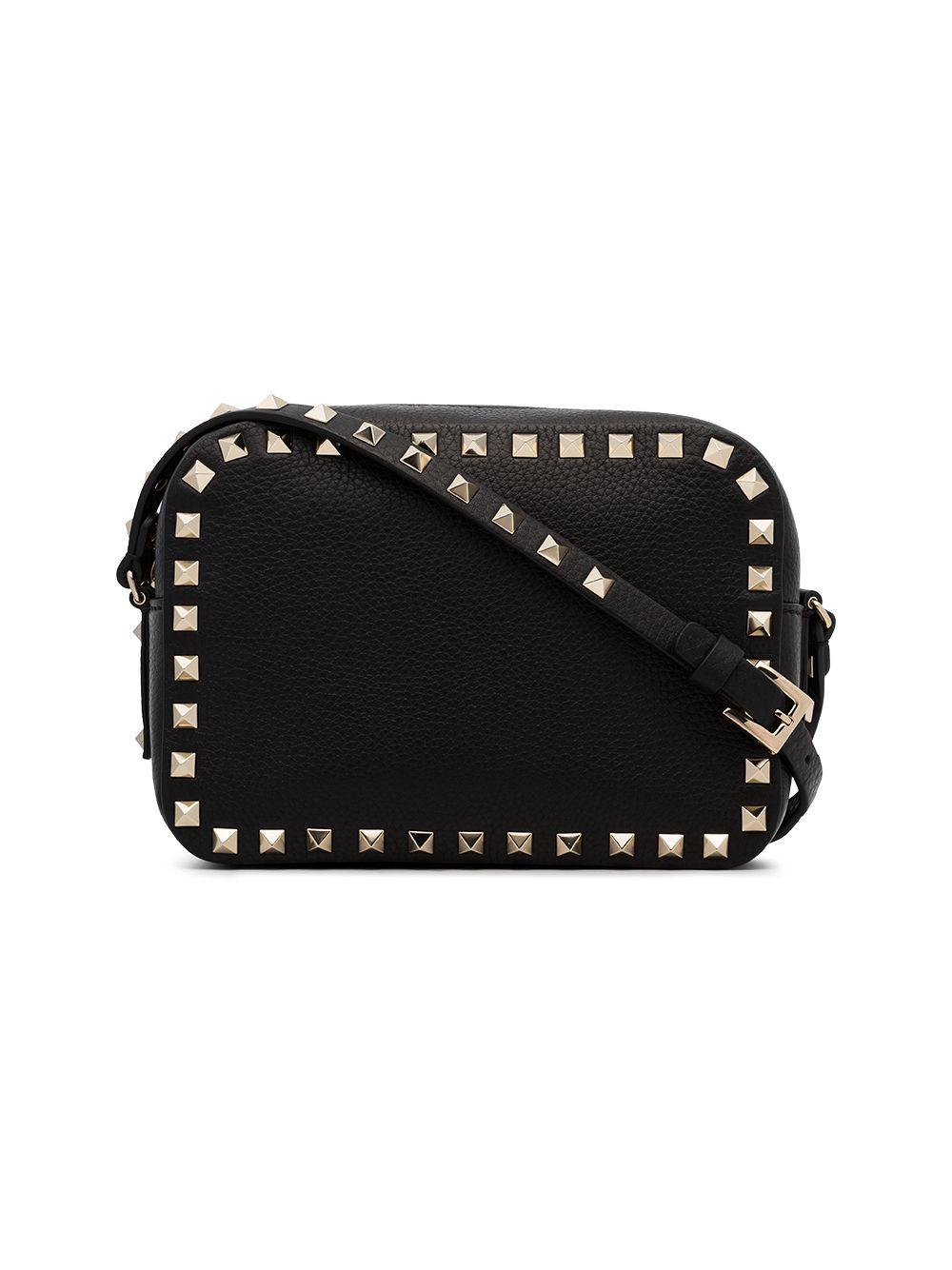 Rockstud Leather Crossbody Bag