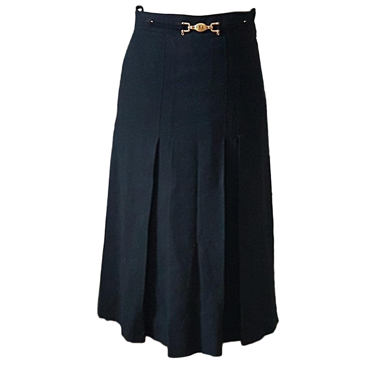 Autre Marque N Black Wool skirt for Women 36 FR
