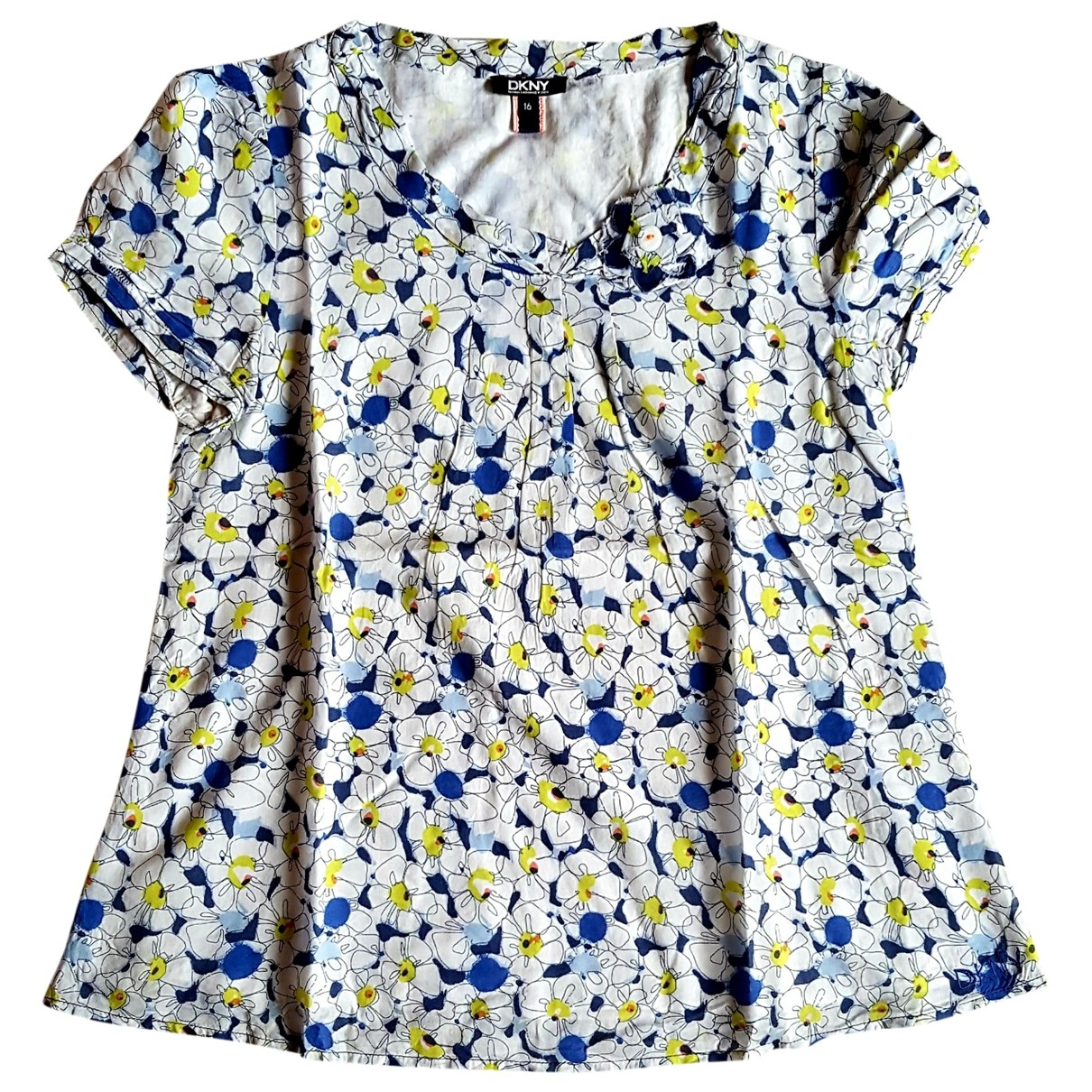 Dkny \N Blue Cotton  top for Kids 16 years - M FR