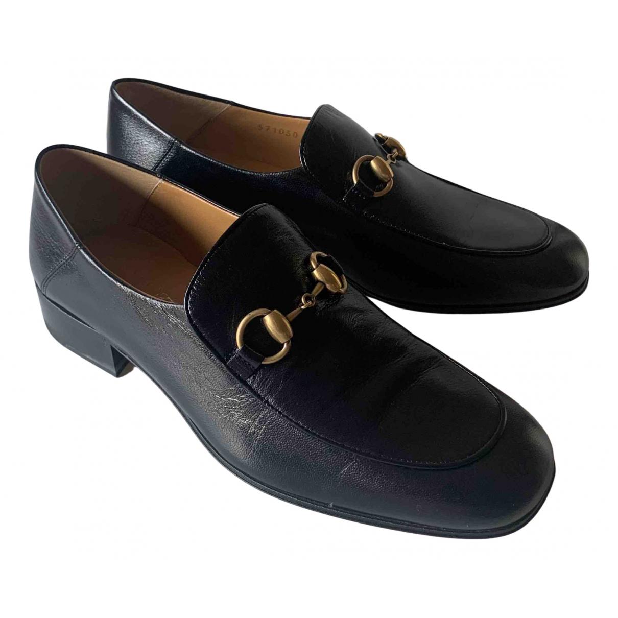 Gucci - Mocassins Brixton pour femme en cuir - noir